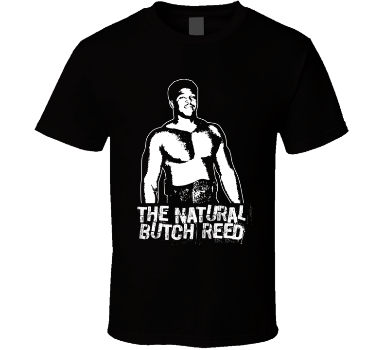 The Natural Butch Reed Retro Legends Of Wrestling T Shirt