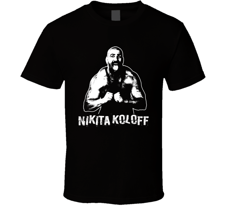 Nikita Koloff Retro Legends Of Wrestling T Shirt