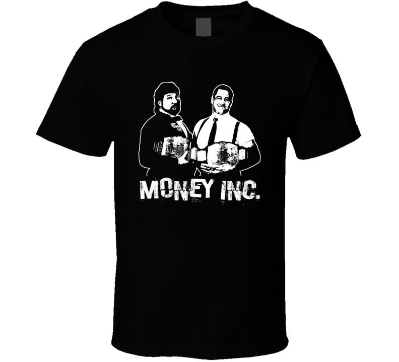 Money Inc Retro Legends Of Wrestling Tag Team T Shirt