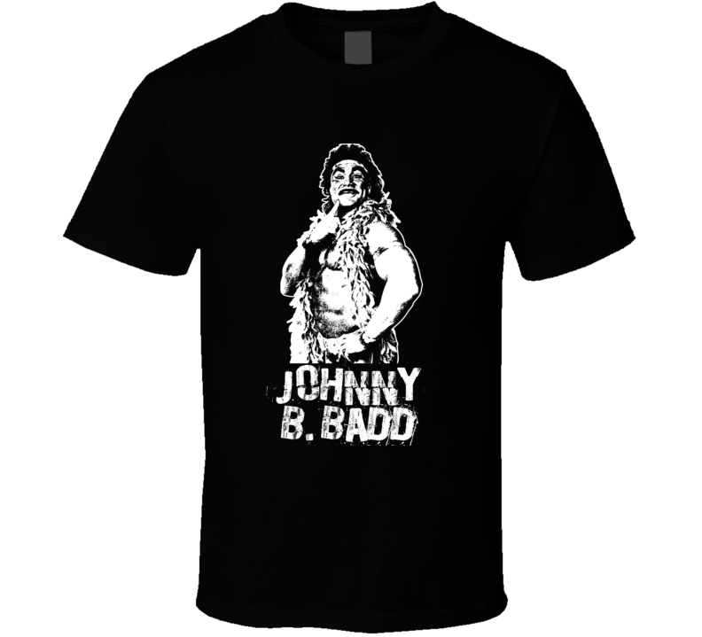 Johnny B. Badd Retro Legends Of Wrestling T Shirt