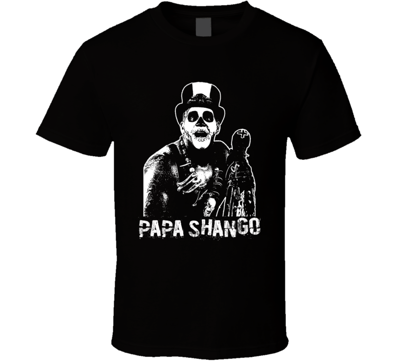 Papa Shango Retro Legends Of Wrestling T Shirt