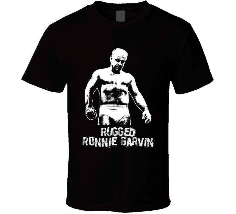 Rugged Ronnie Garvin Retro Legends Of Wrestling T Shirt