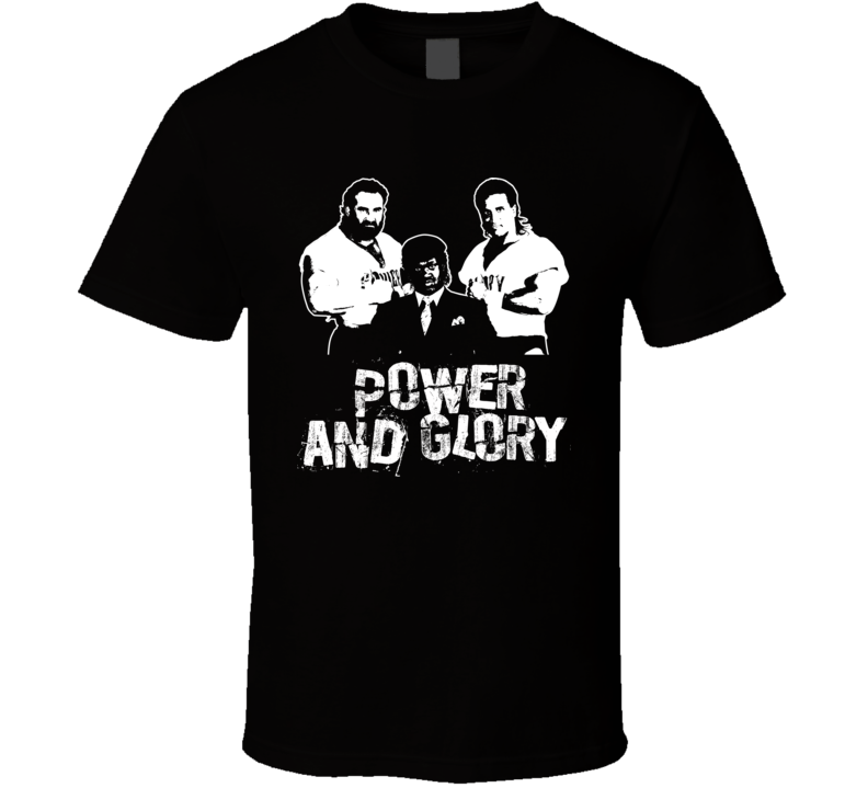 Power And Glory Retro Legends Of Wrestling Tag Team T Shirt