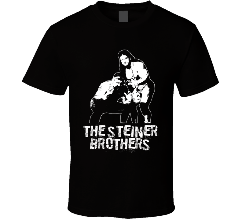 The Steiner Brothers Retro Legends Of Wrestling Tag Team T Shirt