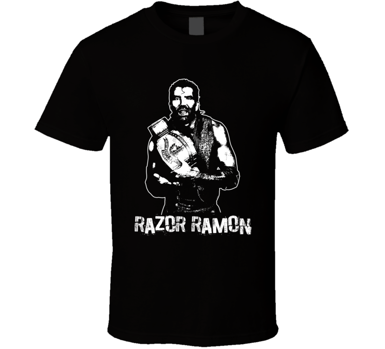 Razor Ramon Retro Legends Of Wrestling T Shirt