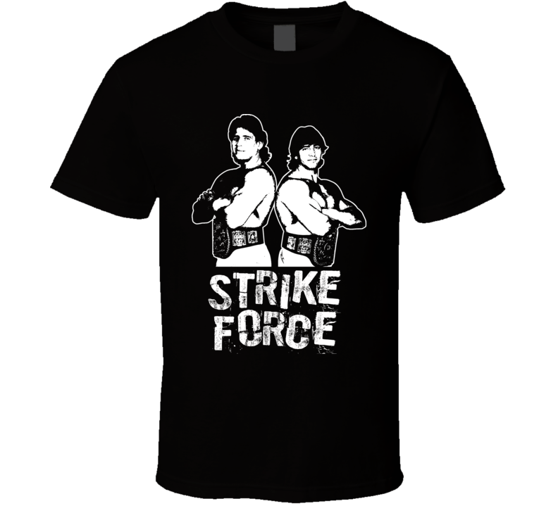 Strike Force Retro Legends Of Wrestling Tag Team T Shirt