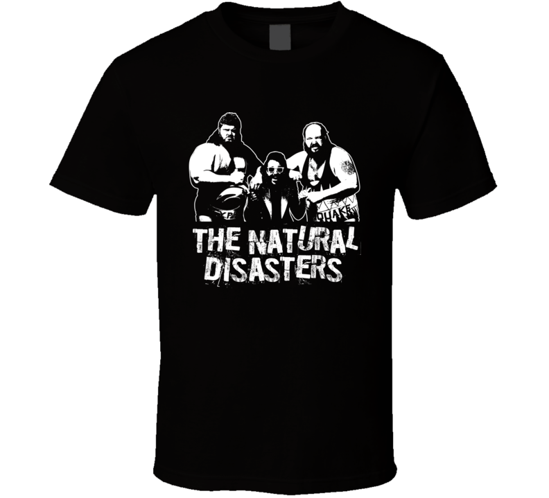 The Natural Disasters Retro Legends Of Wrestling Tag Team T Shirt