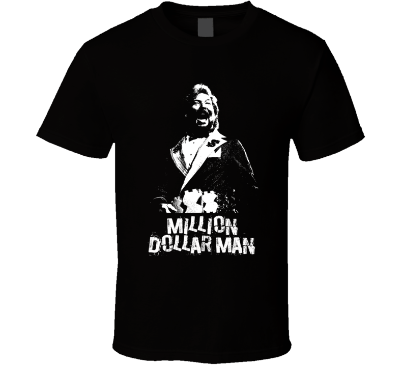 Million Dollar Man Retro Legends Of Wrestling T Shirt