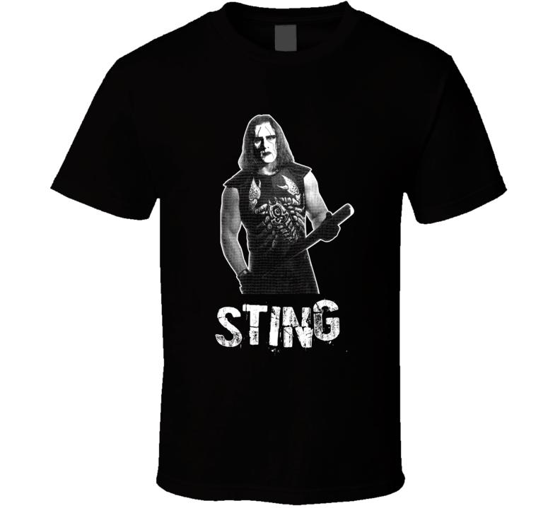 Sting Nwo Retro Legends Of Wrestling T Shirt