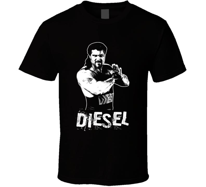 Diesel Big Daddy Cool Retro Legends Of Wrestling T Shirt