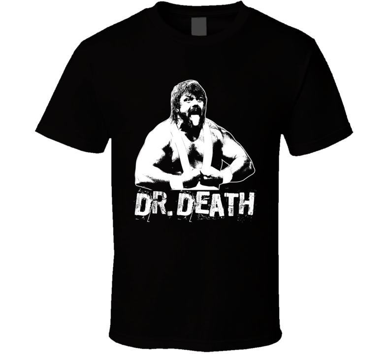 Dr. Death Wcw Retro Legends Of Wrestling T Shirt