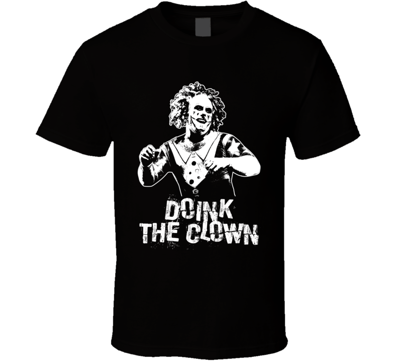 Doink The Clown Retro Legends Of Wrestling T Shirt