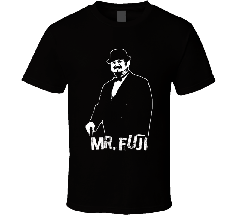 Mr. Fuji Retro Legends Of Wrestling Manager T Shirt