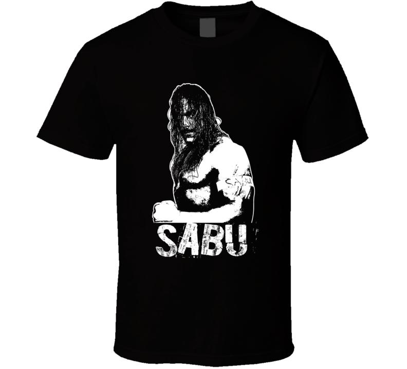 Sabu Ecw Retro Legends Of Wrestling T Shirt