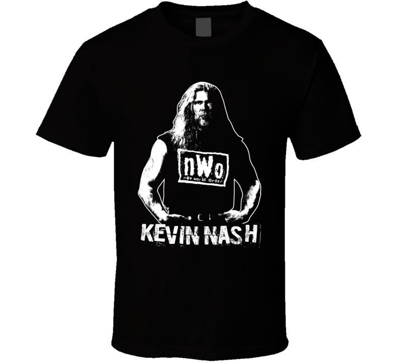 Kevin Nash Wcw Nwo Retro Legends Of Wrestling T Shirt