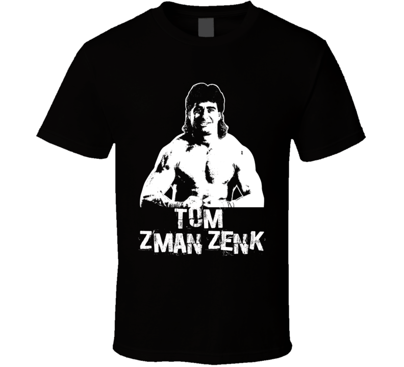 Tom Zenk Z Man Retro Legends Of Wrestling T Shirt