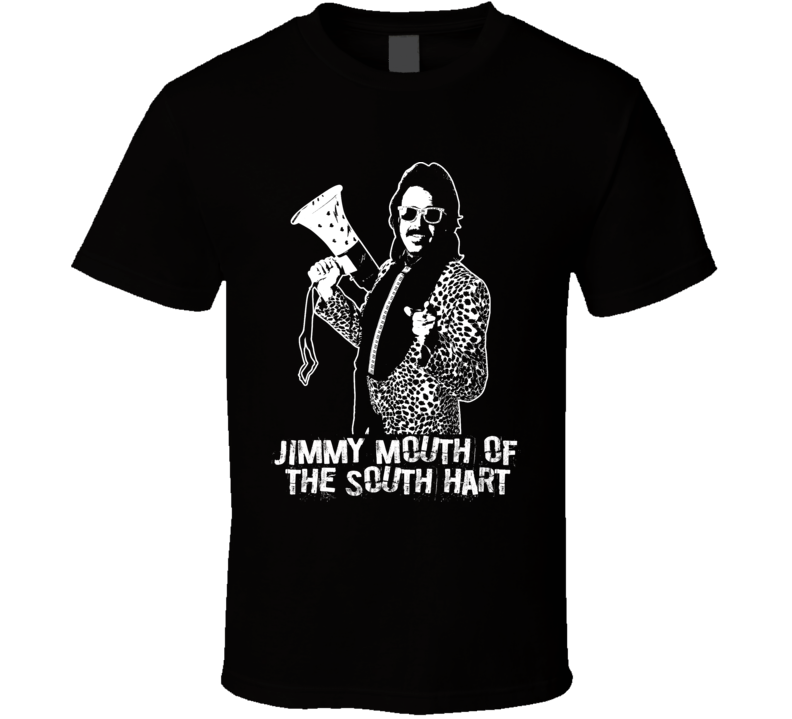 Jimmy Hart Mouth Of The South Retro Legends Of Wrestling Manager T Shirt