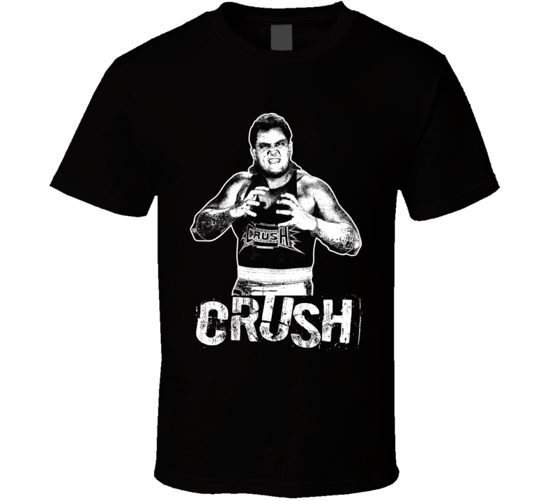 Crush Retro Legends Of Wrestling T Shirt