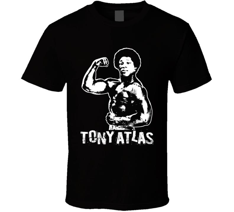 Tony Atlas Retro Legends Of Wrestling T Shirt
