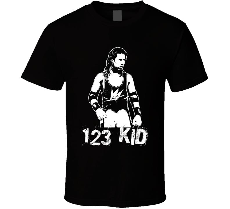 123 Kid Sean Waltman Retro Legends Of Wrestling T Shirt