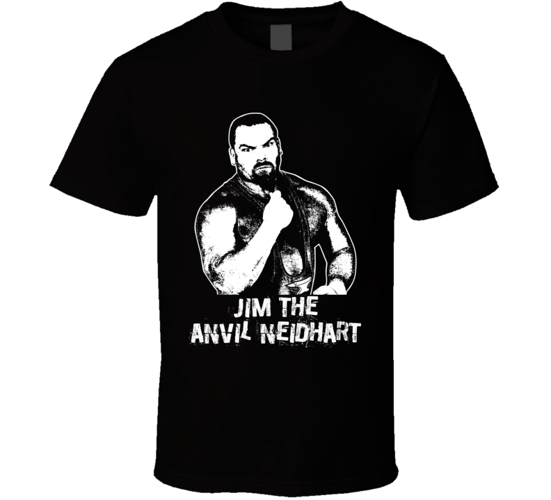 Jim The Anvil Neidhart Retro Legends Of Wrestling T Shirt