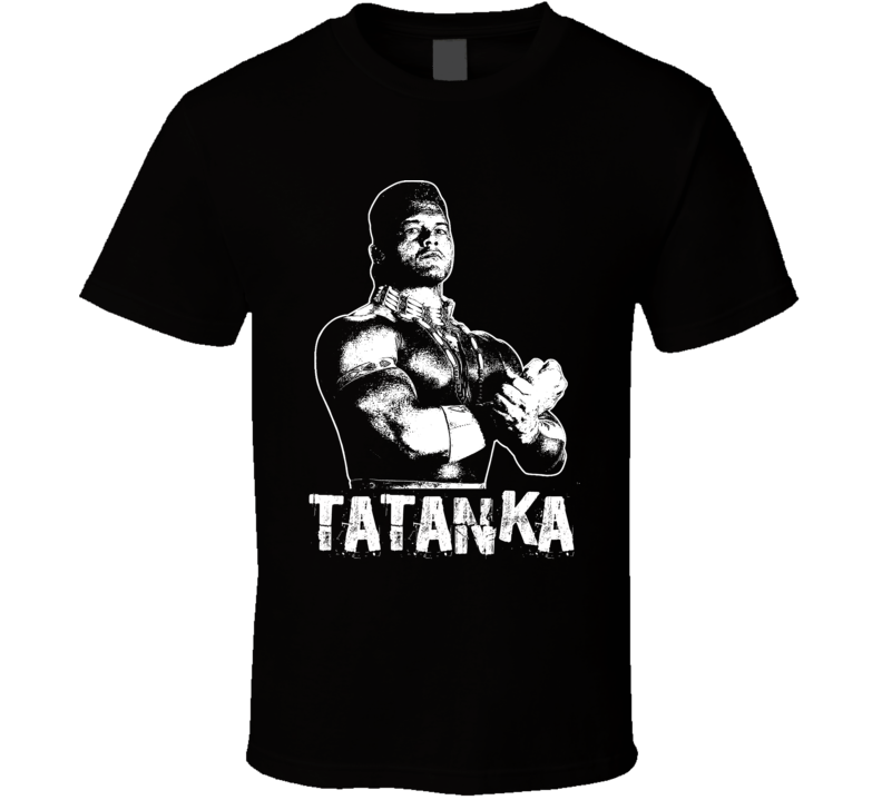Tatanka Retro Legends Of Wrestling T Shirt