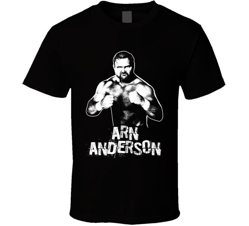 Arn Anderson Retro Legends Of Wrestling T Shirt