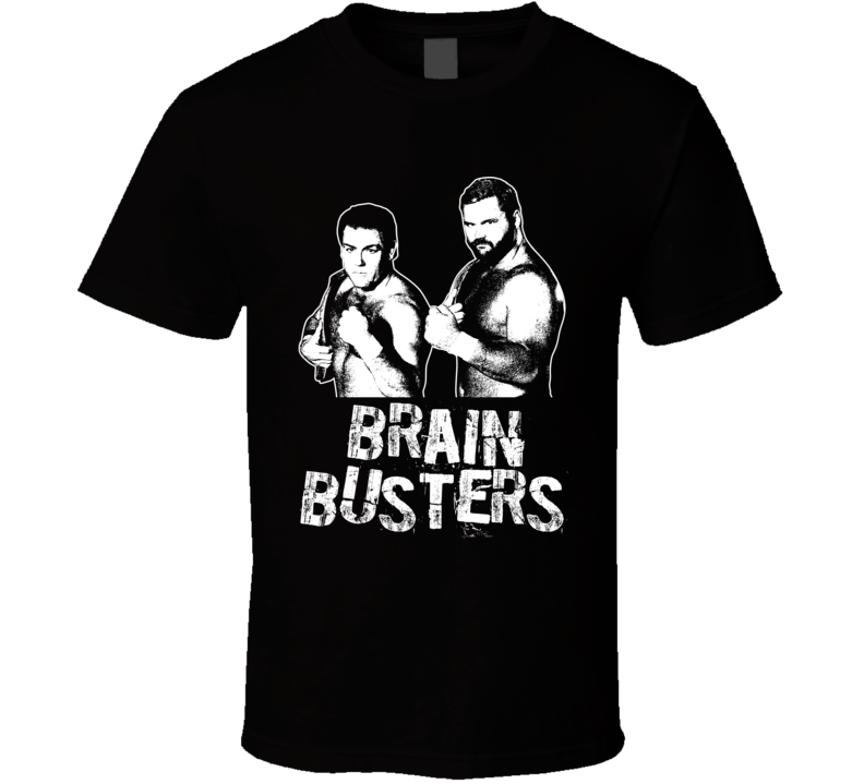 Brain Busters Retro Legends Of Wrestling Tag Team T Shirt