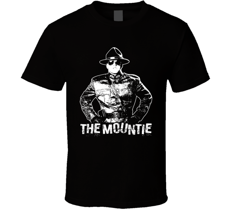 The Mountie Retro Legends Of Wrestling T Shirt