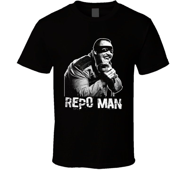 The Repo Man Retro Legends Of Wrestling T Shirt