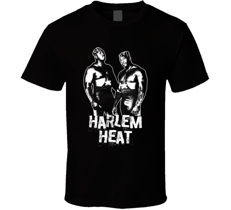 Harlem Heat Retro Legends Of Wrestling Tag Team T Shirt
