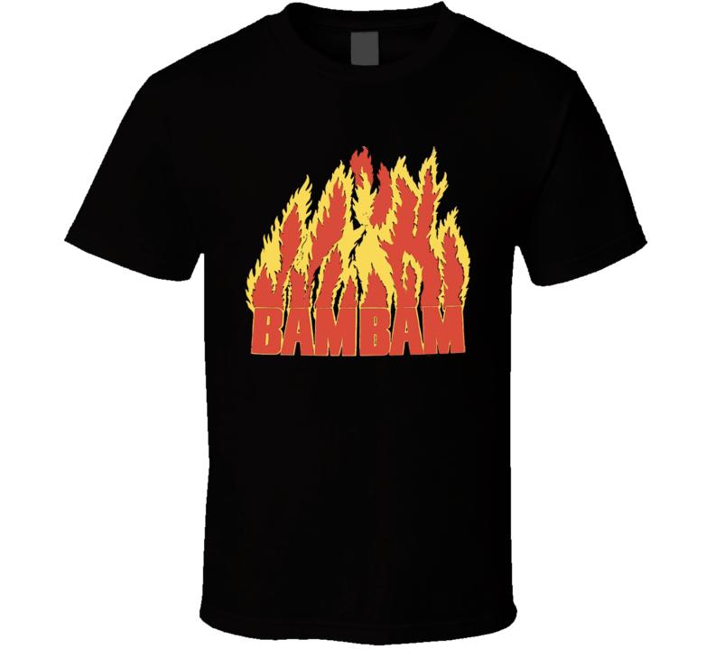 Bam Bam Bigelow Retro Wrestling T Shirt