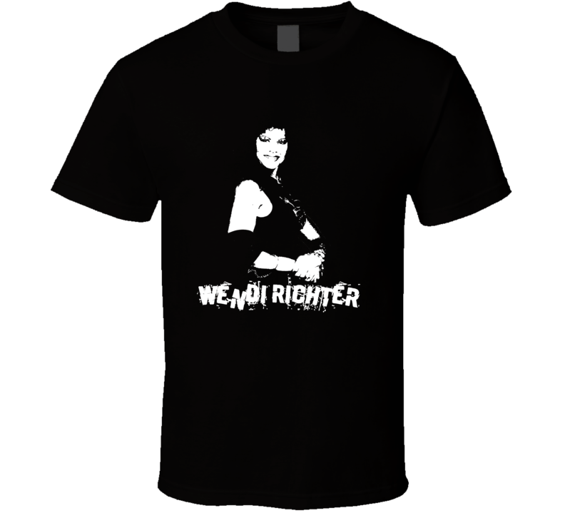 Wendi Richter Retro Women's Wrestling Legend T Shirt