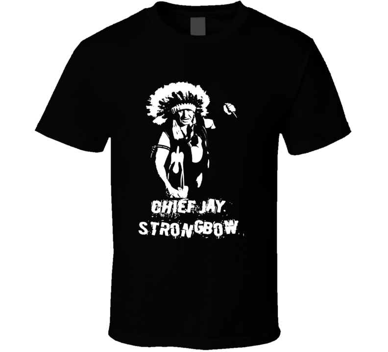Chief Jay Strongbow Retro Legend Of Wrestling T Shirt