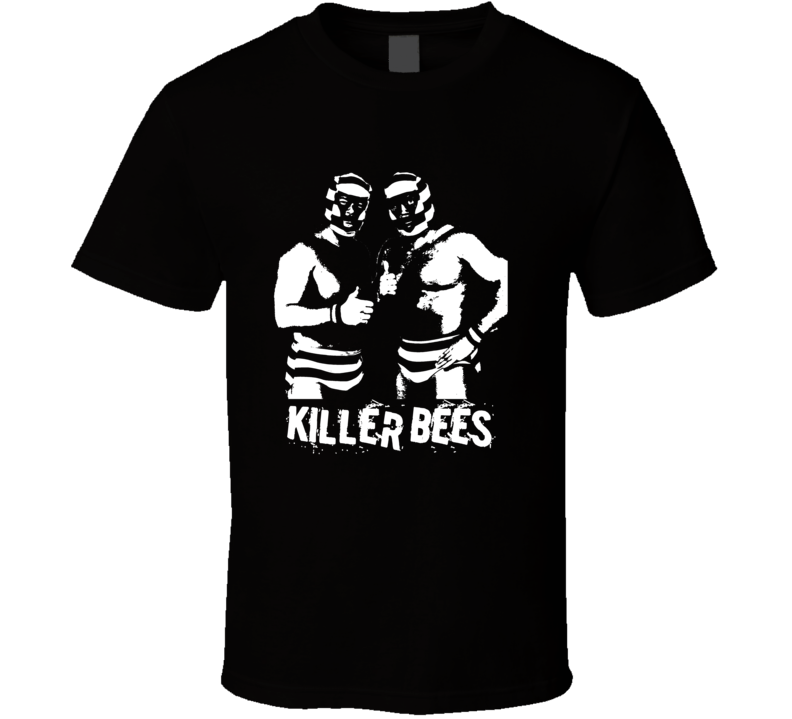 Killer Bees Tag Team Retro Legends Of Wrestling T Shirt