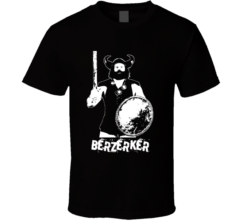 Berzerker Retro Legends Of Wrestling T Shirt
