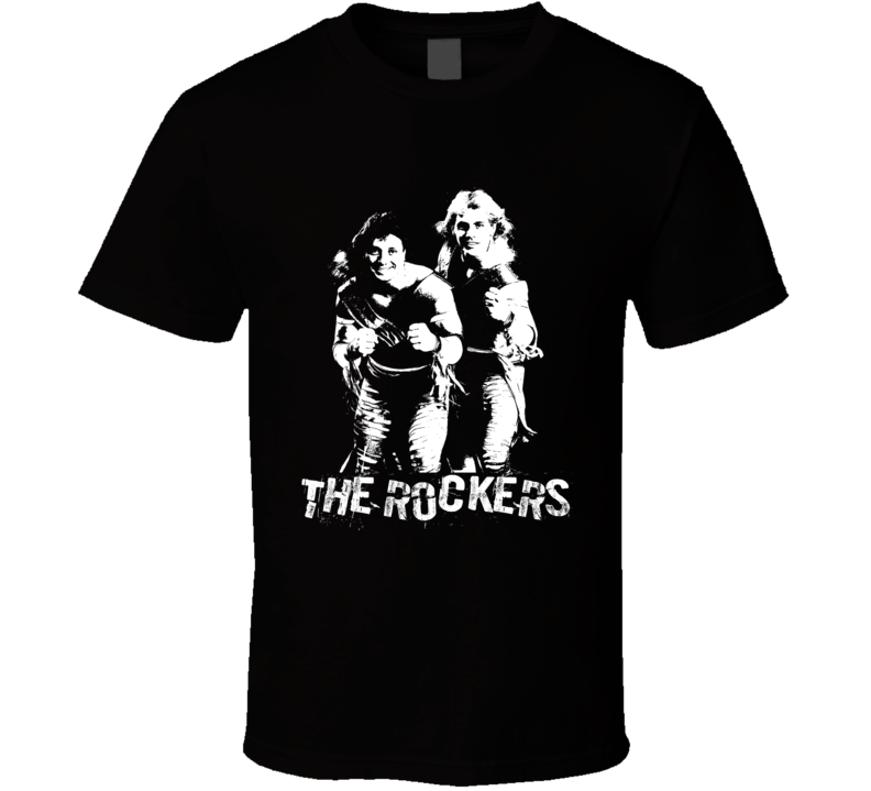The Rockers Retro Tag Team Legends Of Wrestling T Shirt