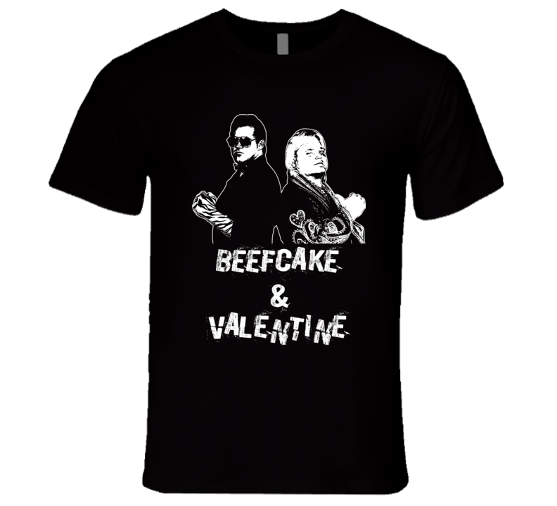 The Dream Team Tag Team Beefcake And Valentine Retro Wrestling T Shirt