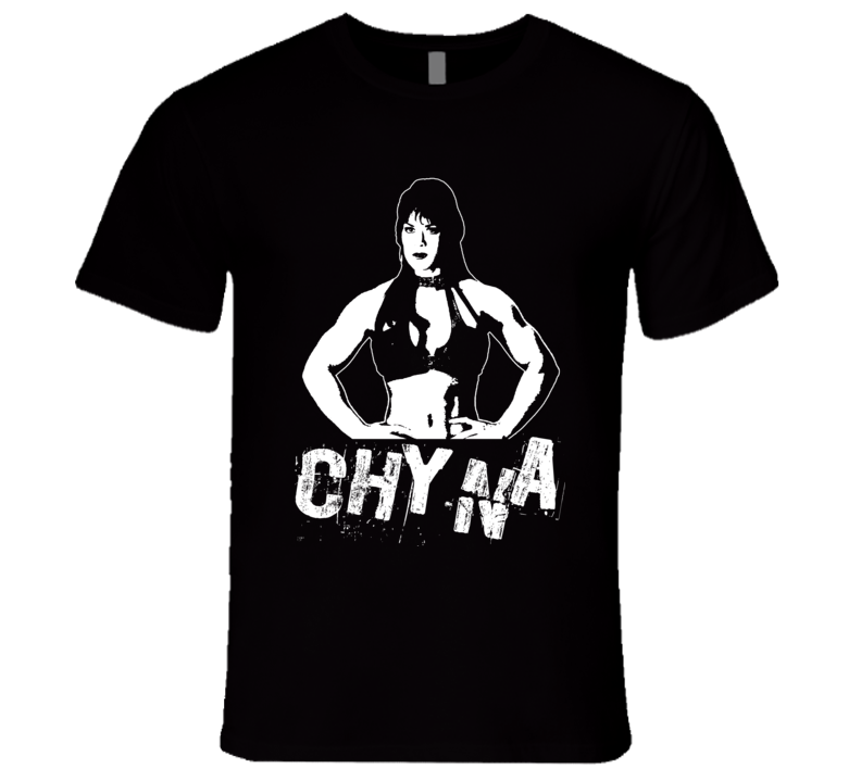 Chyna Women's Champion Retro Legends Of Wrestling T Shirt