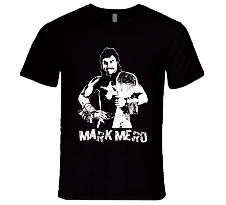 Mark Mero Retro Legends Of Wrestling T Shirt