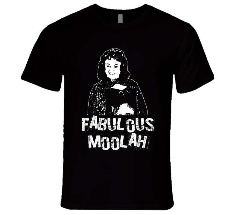 Fabulous Moolah Retro Legends Of Wrestling T Shirt
