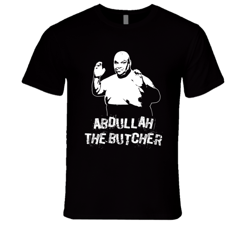 Abdullah The Butcher Retro Legends Of Wrestling T Shirt
