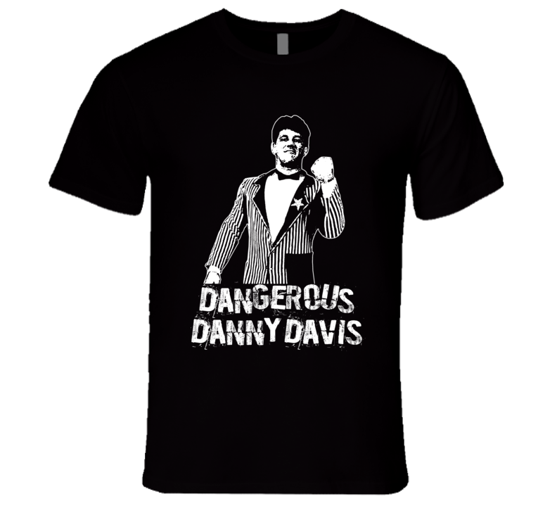 Dangerous Danny Davis Retro Legends Of Wrestling T Shirt