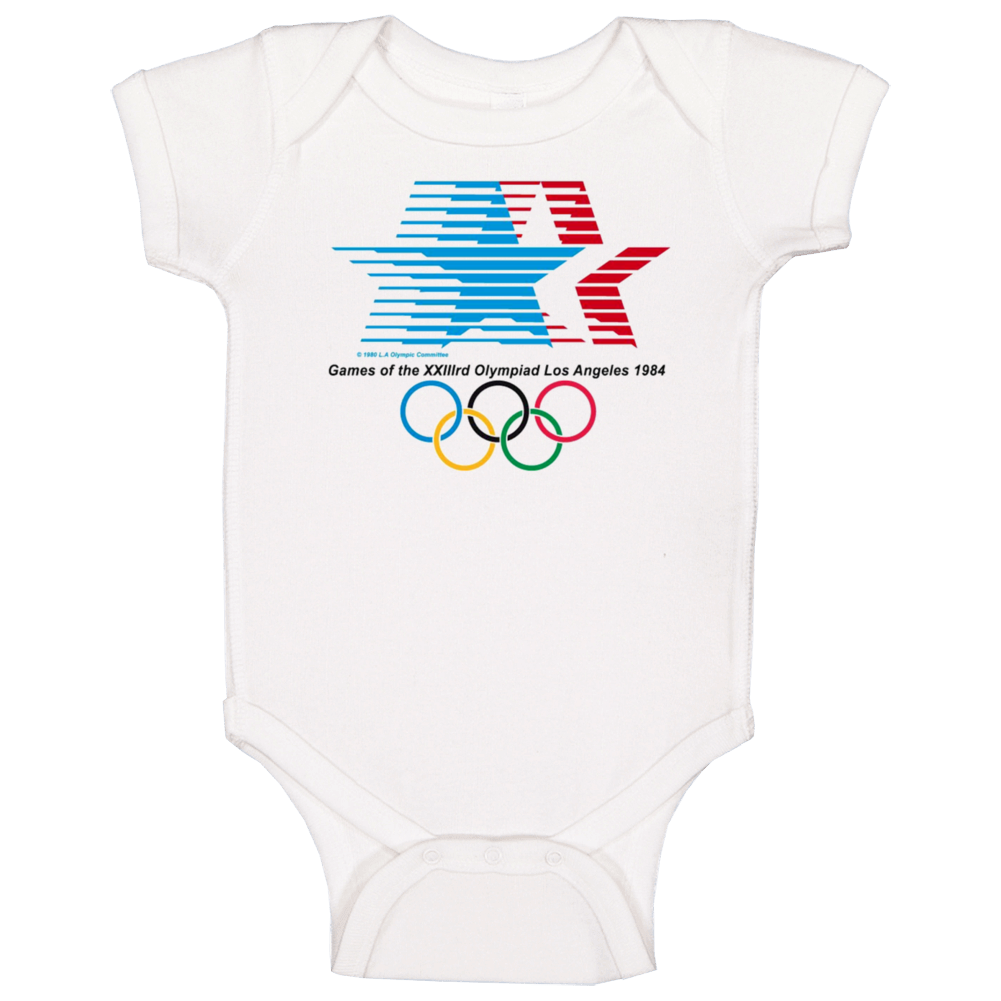 Los Angeles 1984 Summer Olympics Baby One Piece
