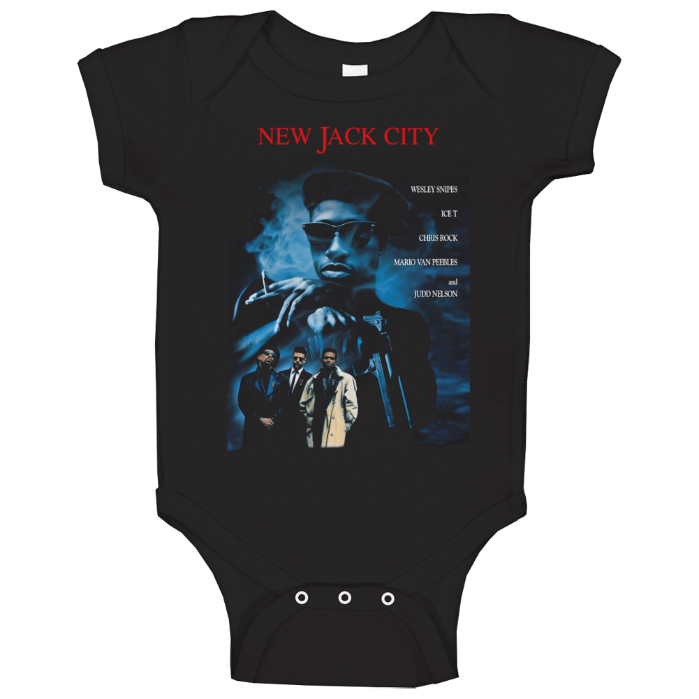 New Jack City Hip Hop Gangster Movie Baby One Piece
