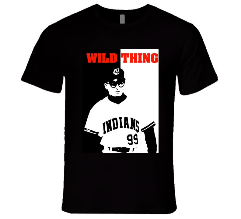 Major League Movie Wild Thing Baseball Retro Comedy Movie T Shirt