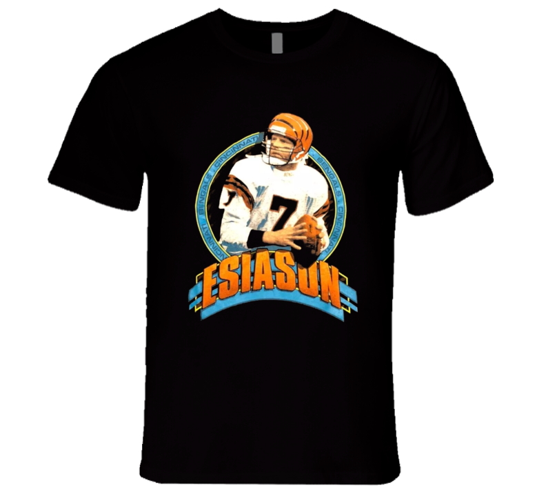 Boomer Esiason Retro Cincinnati Football Quaterback Legend T Shirt