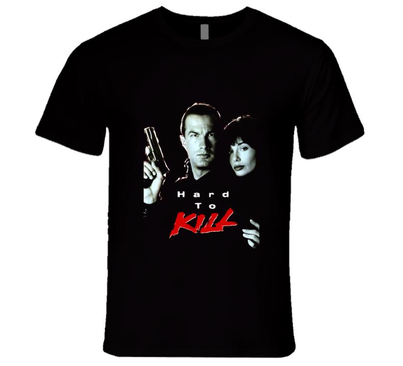 Hard To Kill Seagal 90's Action Martial Arts Movie T Shirt