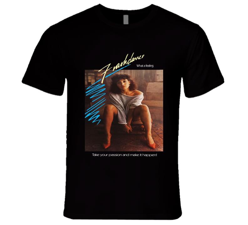 Flashdance 80's Dance Romance Movie T Shirt