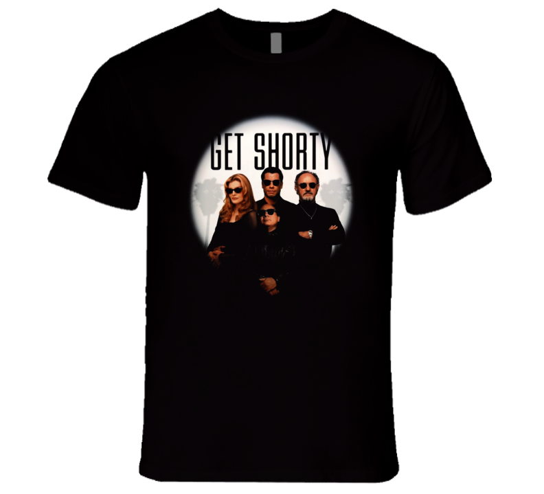 Get Shorty Travolta Devito 90's Retro Comedy Movie T Shirt